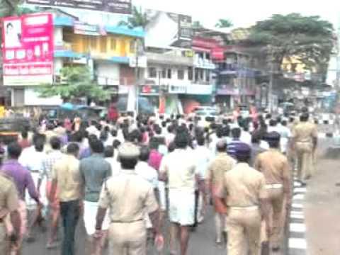 KANHANGAD - News here http://www.kasargodvartha.com/2012/04/bjp-hartal-at-kanhangad.html.