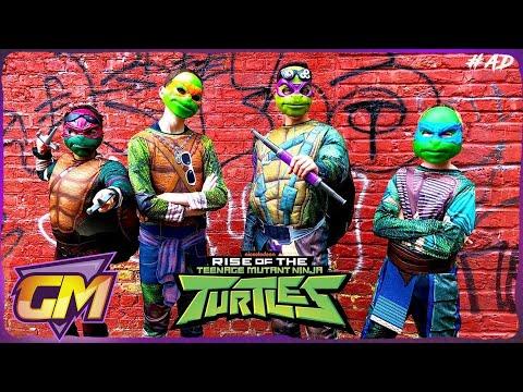 Rise Of The Teenage Mutant Ninja Turtles - Fun Kids Parody | Gorgeous Movies
