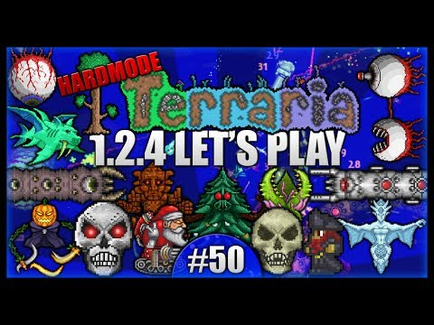 Python The Dominator! The Ultimate Final Showdown! || Let's Play Terraria 1.2.4 [Episode 50]