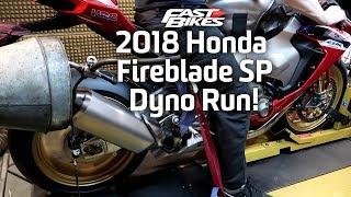 3. 2018 Honda Fireblade SP - Dyno Run!