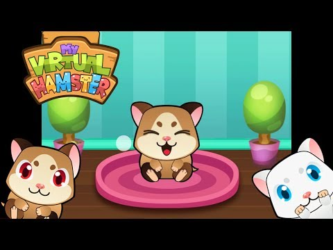 Video of My Virtual Hamster - Cute Pet