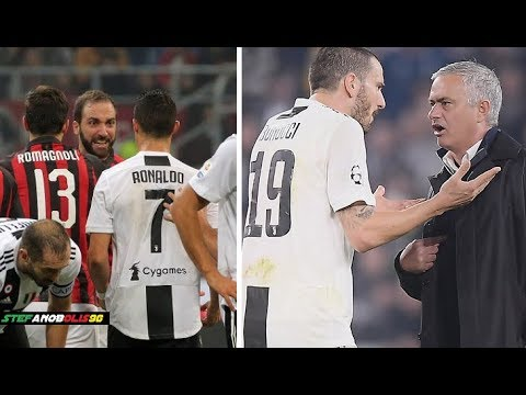 Juventus F.C. ⚽ Best Fights & Angry Moments 2018\2019 ⚽ Ft C.Ronaldo,Dybala,Bonucci.... ⚽ HD #Juve