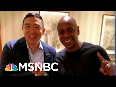 Dave Chappelle Enters 2020 Fray: 'I'm Yang Gang!' | The Beat With Ari Melber | MSNBC
