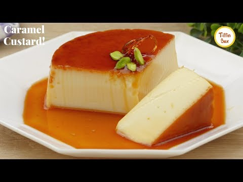Creme Caramel Custard / Egg Pudding / Leche Flan /Purin For Kid's Dessert |ক্যারামেল কাস্টার্ড