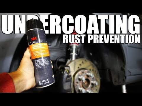 How to Undercoat Your Car (RUST PREVENTION)