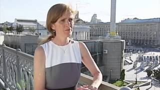 Journalist of Ukraine Today spoke with the United States Ambassador to the United Nations Samantha Power during her visit to Ukraine. In particular, she was ...
