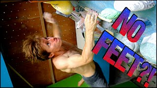 Brachiating Boulders : Useful or Not ? Training/Climbing/Campusing with Swinging Feet ! by Mani the Monkey