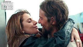 A STAR IS BORN Extended Teaser Trailer NEW 2018 - Bradley Cooper Lady Gaga Musical Drama