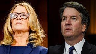 Brett Kavanaugh and Christine Blasey Ford face Senate panel