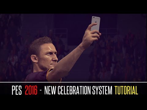 [PES 2016] New Celebration System Tutorial
