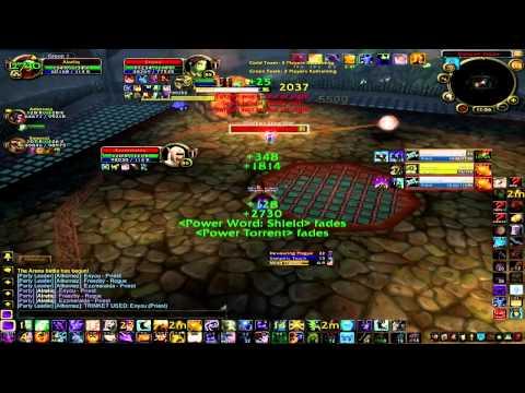 World of Warcraft Cataclysm – (monster-wow) 3v3 Mage/Priest/Druid [BG LANGUAGE]