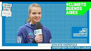 Youth Olympic Games - Buenos Aires 2018 - Sport Climbing with Vita Lukan by International Federation of Sport Climbing