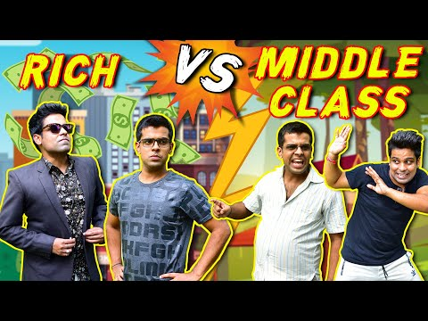 RICH vs MIDDLE CLASS   The Half-Ticket Shows