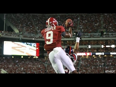 Amari Cooper Freshman Highlights video.