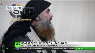 El líder del Estado Islámico Al Baghdadi aparece en un video por primera vez en cinco años