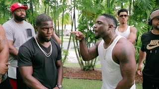 Kevin Hart a.k.a 'Chocolate Droppa' vs Klarity (RAP BATTLE)