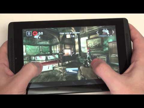 Nvidia Tegra Note 7 Gaming Demo