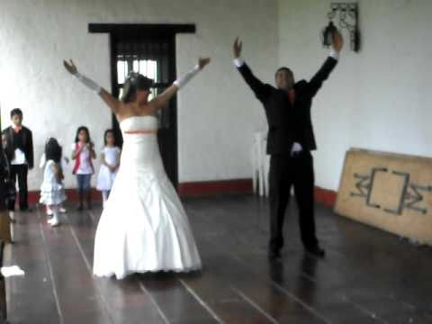 0 Un baile de bodas muy original