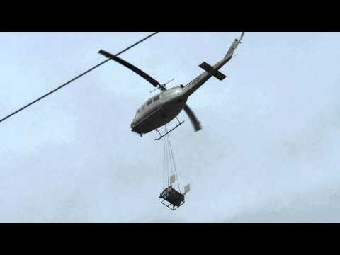 Load lifting operation North of...