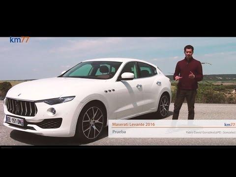 Maserati Levante 2016 - Prueba (test)  km77.com