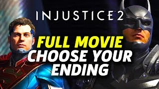 Nonton Injustice 2 Story Mode   Full Movie  Choose Your Ending  Film Subtitle Indonesia Streaming Movie Download