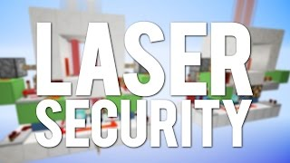 Minecraft: Laser Security System