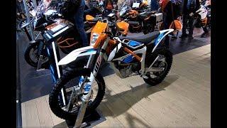 8. KTM FREERIDE E-XC ELECTRO CROSS OFFROAD BIKE NEW MODEL 2018 WALKAROUND + INTERIOR