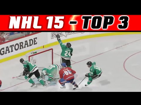 NHL 15: TOP 3 Highlights #8 - Fails