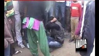 Rewari India  city images : Man Brutally Beaten for Eve Teasing in Rewari