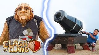 Video CLASH OF CLANS IN REAL LIFE MP3, 3GP, MP4, WEBM, AVI, FLV Desember 2017
