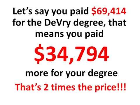 Devry University - Devry lies to get you into their programs, once you enroll to *** with you.