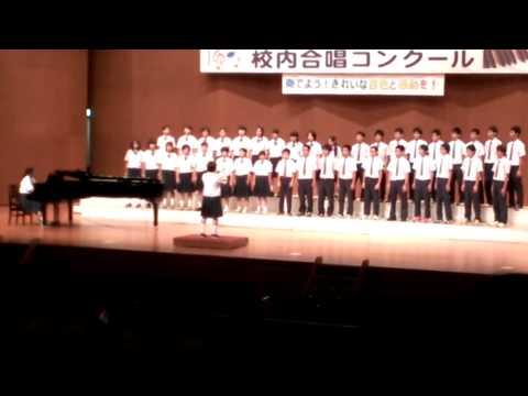 2014 10/29 沖縄東中学校 構内合唱コンクール