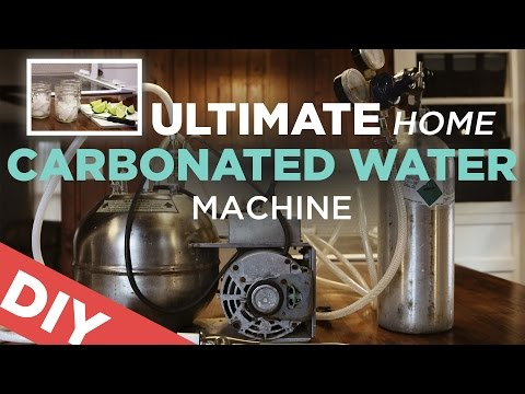 Ultimate Home Seltzer Water Machine Sodastream Killer