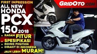 Video All New Honda PCX 150 2018 Indonesia l First Impression Review l GridOto MP3, 3GP, MP4, WEBM, AVI, FLV Desember 2017