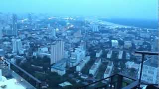 Bangkok's Vertigo Restaurant And Moon Bar Sunset View