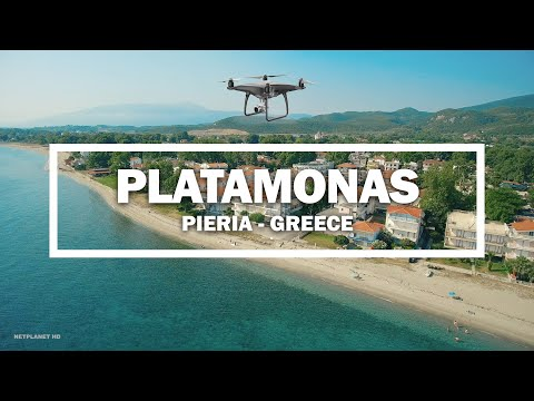 🎬 Platamonas, Pieria – Greeece ✈ (Drone)