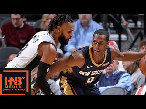San Antonio Spurs vs New Orleans Pelicans Full Game Highlights / March 15 / 2017-18 NBA Season (видео)