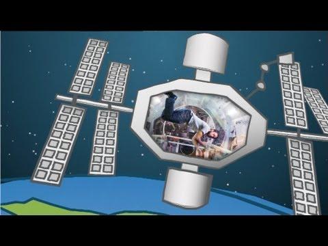 Warum sind Astronauten schwerelos?