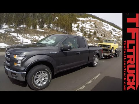 2015 Ford F-150 2.7L EcoBoost takes on the Grueling IKE Guantlet Towing Test Review