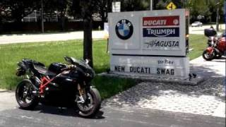 8. 2011 Ducati 1198SP Black Euro Cycles of Tampa Bay