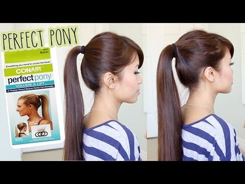 First Impression: Conair Perfect Pony Tool Demo & Review – How to Get a Thicker Ponytail