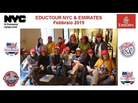 Video EDUCTOUR NYC & EMIRATES 17-19 FEBBRAIO 2019 (19-9-2019)