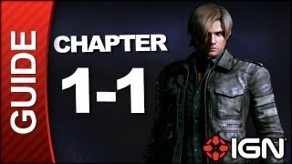 Resident Evil 6: Leon Kennedy Campaign Walkthrough - Chapter 1 pt 1