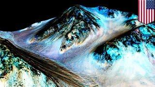火星に水があった!NASA研究チームが痕跡を分析