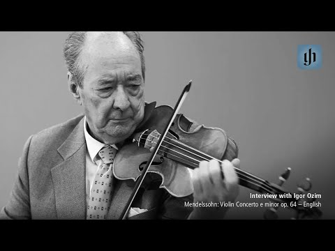 Video - Mendelssohn, Felix - Concerto in E Minor, Op 64 - Violin and Piano - edited by Ullrich Scheideler - G Henle Verlag URTEXT | 1260 114