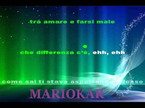 , title : 'Biagio Antonacci   Che differenza c'è karaoke'