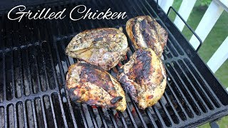 SUBSCRIBE: https://goo.gl/k44ObC How to cook marinated chicken breasts on the grill! This is a quick and easy grilled chicken...