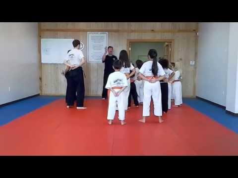 Hampton's Karate Academy - Class Instruction 01