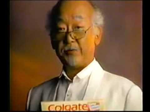 Pat Morita Colgate Commercial (1988)