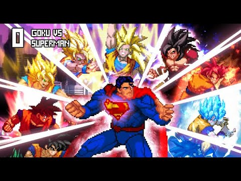 Superman VS Goku.